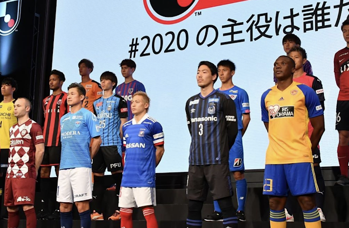 J League comparison to football in the UK