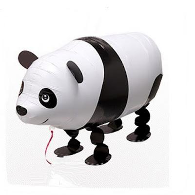 Balon Foil Airwalker Panda