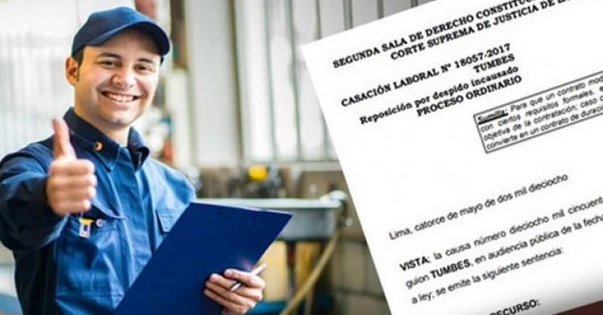 Poder Judicial precisa en qué caso los trabajadores de las «services» tendrán estabilidad laboral