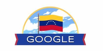 La compañía Google celebra este lunes los 210 años de la Independencia de Venezuela con un 'doodle' especial.     Cada 5 de julio los ciudadanos venezolanos conmemoran el Día de la Independencia, un acontecimiento que estableció una nueva nación en la región suramericana, y que fue fundada bajo los principios republicanos y federales, aboliendo para siempre la monarquía.      El gigante de Internet ha preparado un 'doodle' especial …  Unión Radio
