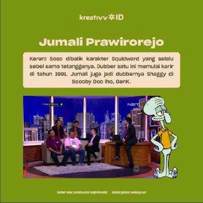 Dubber Legend Indonesia Jumali Prawirorejo