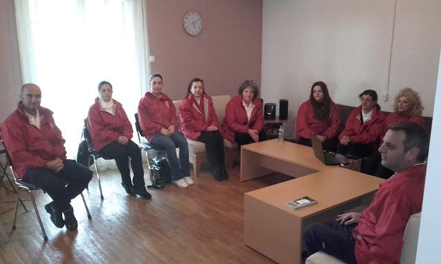 Ηγουμενίτσα: Συνάντηση ΚΕΘΕΑ ΗΠΕΙΡΟΣ με εθελοντές του Ελληνικού Ερυθρού Σταυρού
