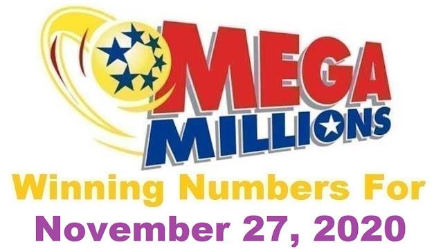 Mega Millions Winning Numbers for Friday, November 27, 2020