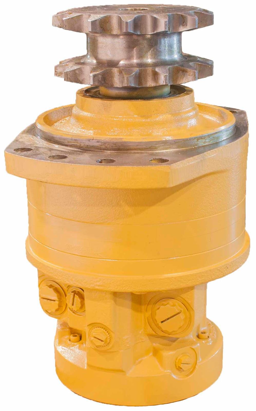 Gehl Skid Steer Replacement Hydraulic Motor Flint