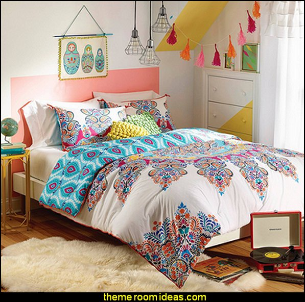 Gypsy Rose Comforter   Boho Boutique Décor