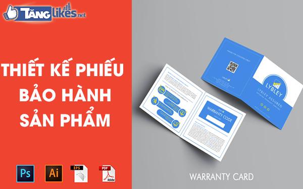 thiet ke phieu bao hanh online