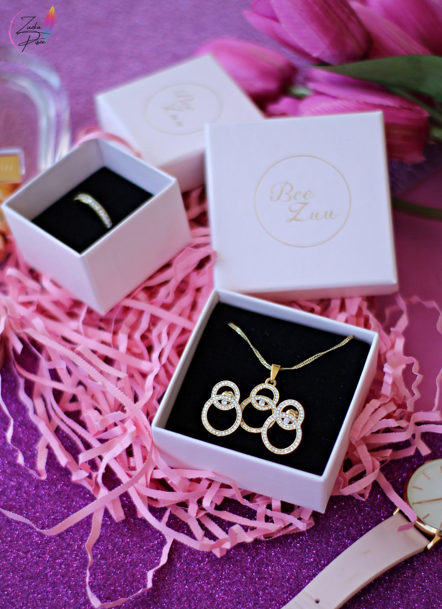 Biżuteria srebrna pozłacana BeeZuu - idealny wybór na co dzień