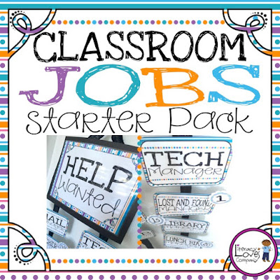 A closer look at how to use classroom jobs to build community this back to school season.  Great tips for getting the most from your classroom jobs!