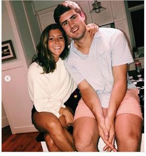 Daniel Jones Girlfriend Ella Bonafede