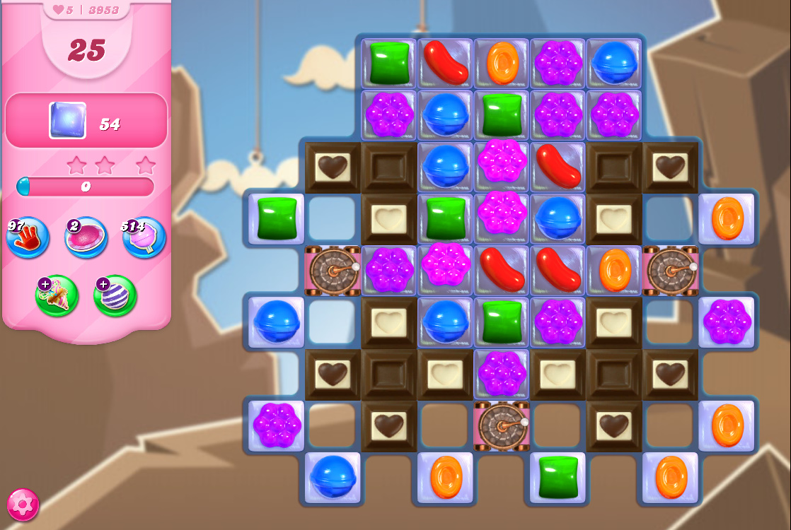 Candy Crush Saga level 3953