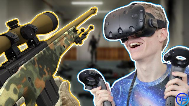 لعبة الواقع الافتراضي والنظارات لكونتر سترايك Conuter Strike