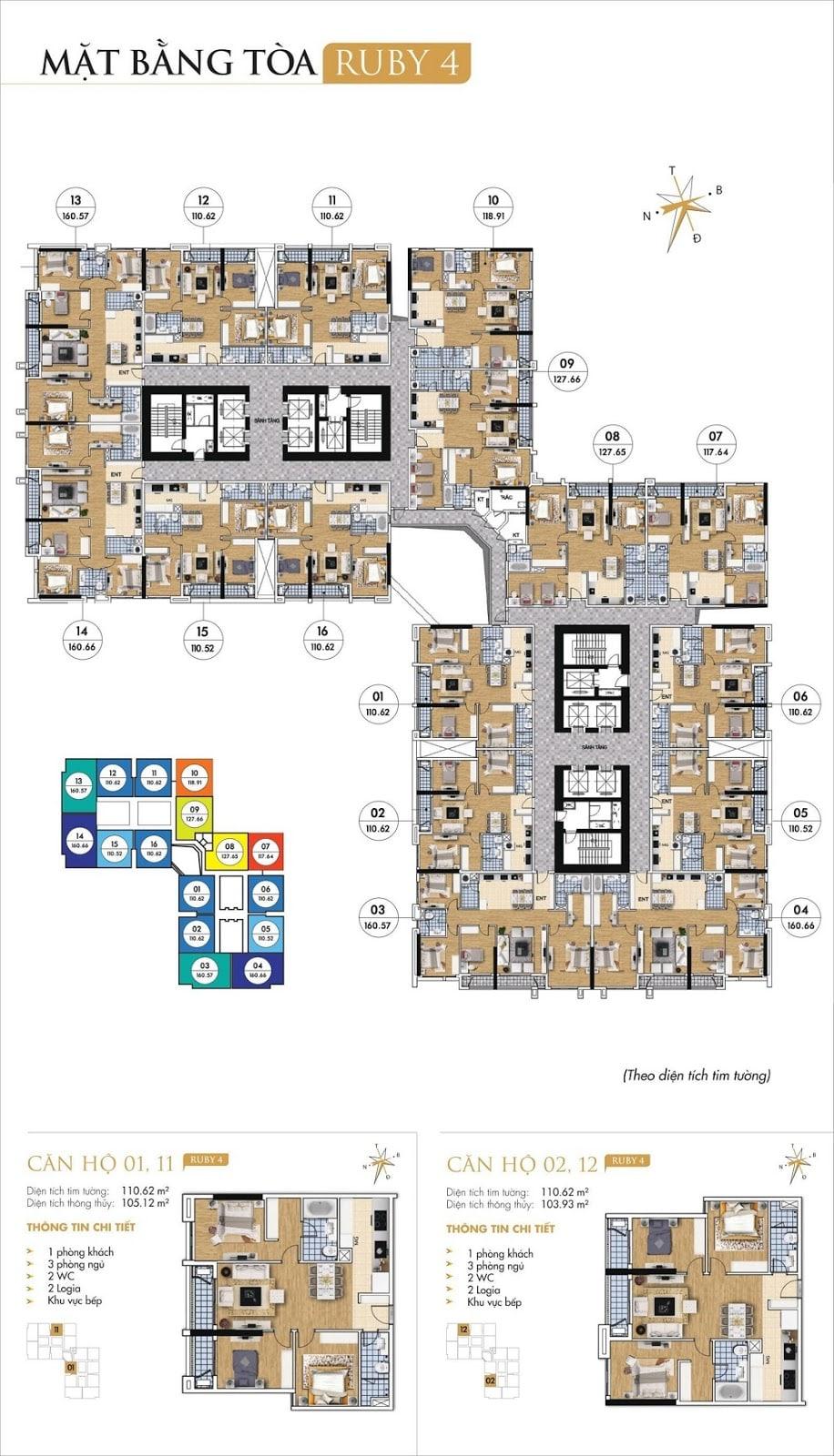 Tòa Ruby 4 dự án Goldmark City