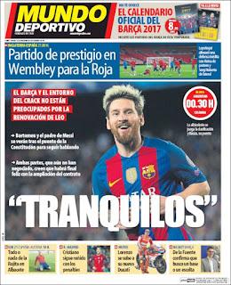 portada mundo deportivo 15 11 2016