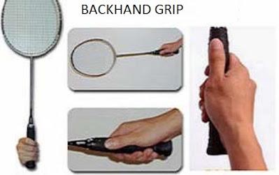 backhand grip technique
