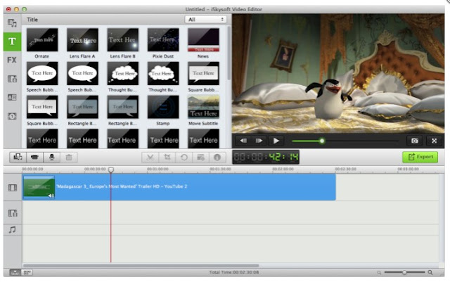 software edit video yang ringan dan gratis salah satunya adalah Avidemux