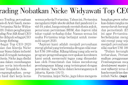 Aramco Trading Honors Nicke Widyawati Top CEO 2020
