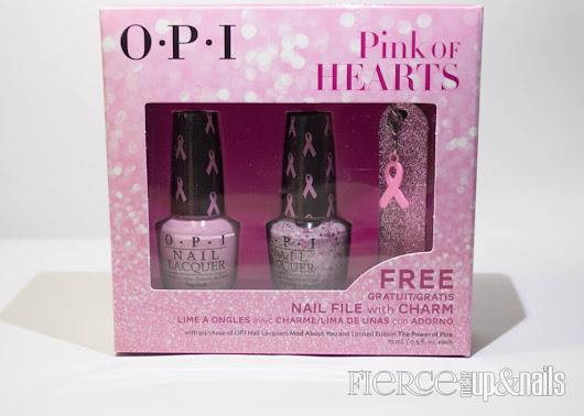 Fierce Makeup and Nails: OPI Pink of Hearts 2014
