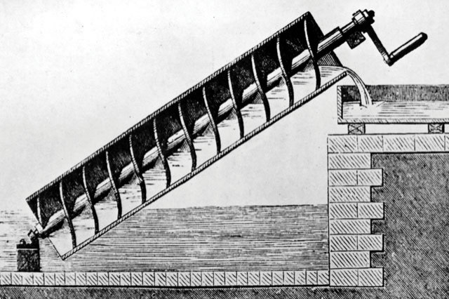 How did The Archimedes Screw impact ancient Greece?