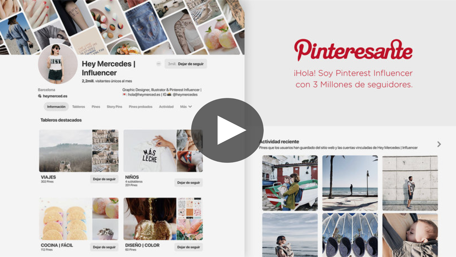 Curso de Pinterest Business como herramienta de marketing