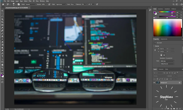 Adobe Photoshop للتصميم الجرافيكى2020