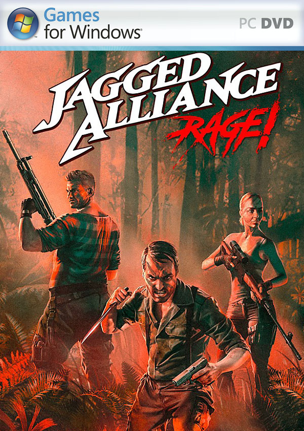 Jagged Alliance Rage PC Cover