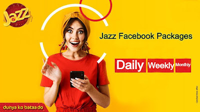 Jazz Facebook Package Daily Weekly and Monthly 2020