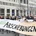 مظاهرة وسط فيينا تطالب الحكومة النمساوية بأيقاف ترحيل اللاجئين خاصة الأطفال