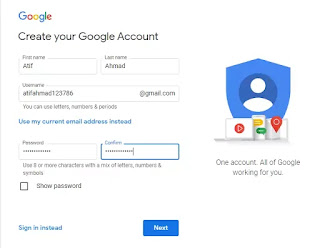 How to Create Gmail Account in Easy Stepwise 2021