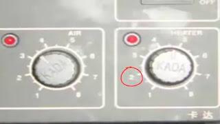 Analog Hot Air Station knobs