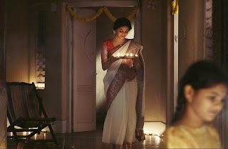Keerthy Suresh in White Saree in Mahanati