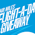Air Miles: Flight-a-day Giveaway
