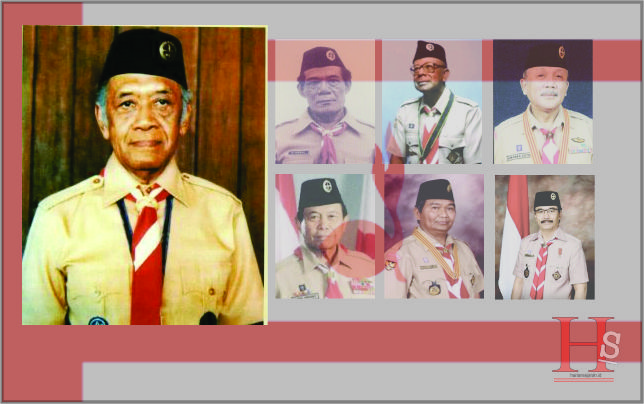 Tujuh Sosok Ka Kwarnas Gerakan Pramuka Indonesia 1961-2018