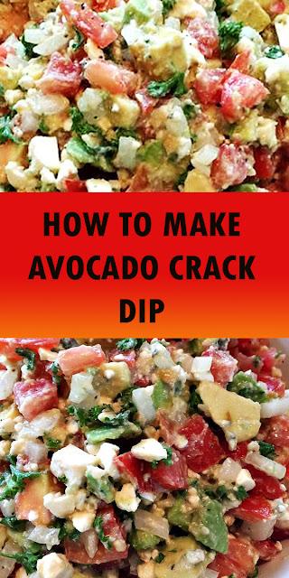 HOW TO MAKE AVOCADO CRACK DIP