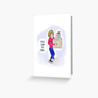 You Can Do Tis Greeting Card Image