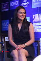 Actress Shraddha Srinath Stills in Black Short Dress at SIIMA Short Film Awards 2017 .COM 0053.JPG