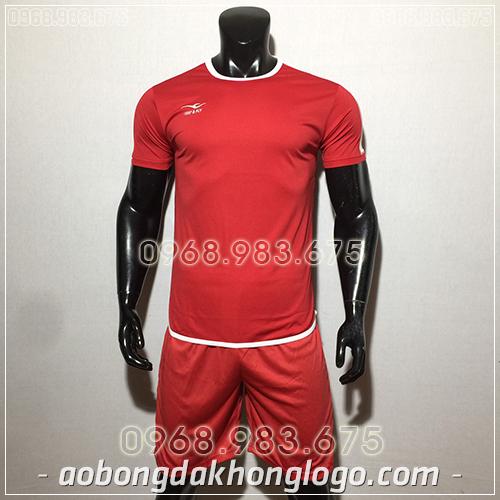 Áo bóng đá ko logo KeepFly Zuka màu đỏ