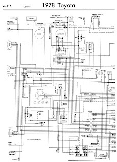 repair-manuals: Toyota Corolla 1978 Wiring Diagrams