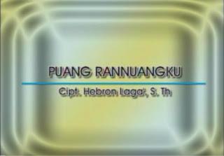 Puang Rannuangku (Trio Bambana Sion)