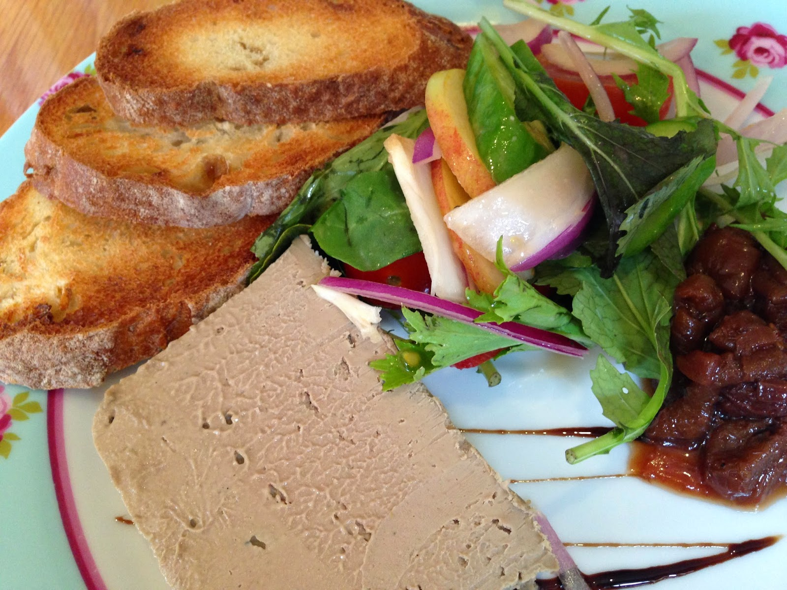 Chicken liver pate at the grey lady kitchen and deli