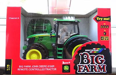 children radio control tractor, John Deere radio control tractor, John Deere tractor