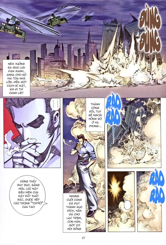 Xích Trụ Phạn Đường chap 25.2 - Trang 14