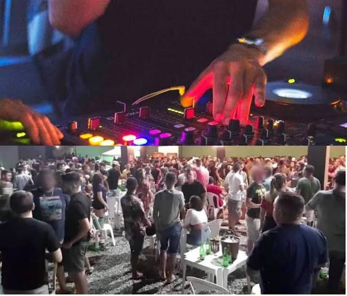 DJ é preso ao ser flagrado durante festa com 150 pessoas em chácara