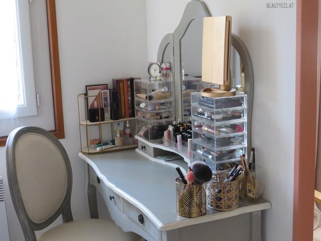 Beauty Eclat Mon Rangement Maquillage Astuces Idees Et Decoration Avec Poster Store