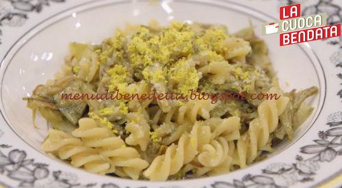 La Cuoca Bendata - Pasta mimosa con carciofi ricetta Parodi