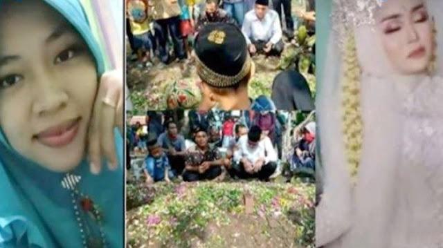 Video Pernikahan Berubah Jadi Takziah Kematian, Dirias Mendadak Langsung Innalillahi