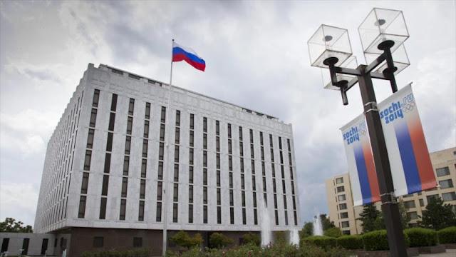 Rusia urge a EEUU a dejar de restringir libertad de medios rusos