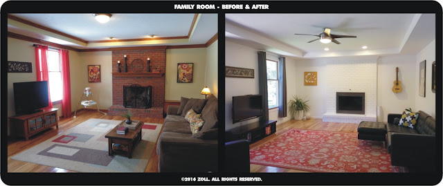 ©2016 Zoll - Family Room - Before & After