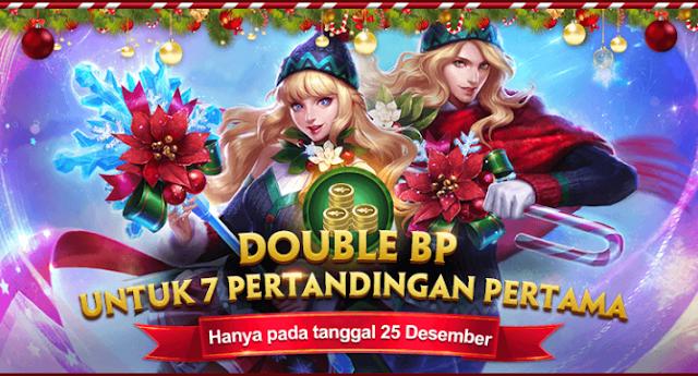 Spesial Natal Main Game Mobile Legends Tanggal 25 Desember Dapatkan Double BP 5