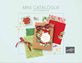 NEW!! July to December Mini Catalogue