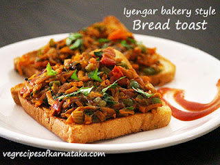 Iyengar bread toast recipe in Kannada
